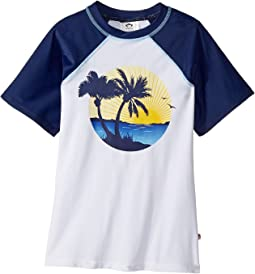 Appaman Kids - UPF 50+ Palm Tree Rashguard (Toddler/Little Kids/Big Kids)
