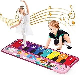 Piano Mat Kids Toys, Musical Piano Keyboard Dance Mat Early