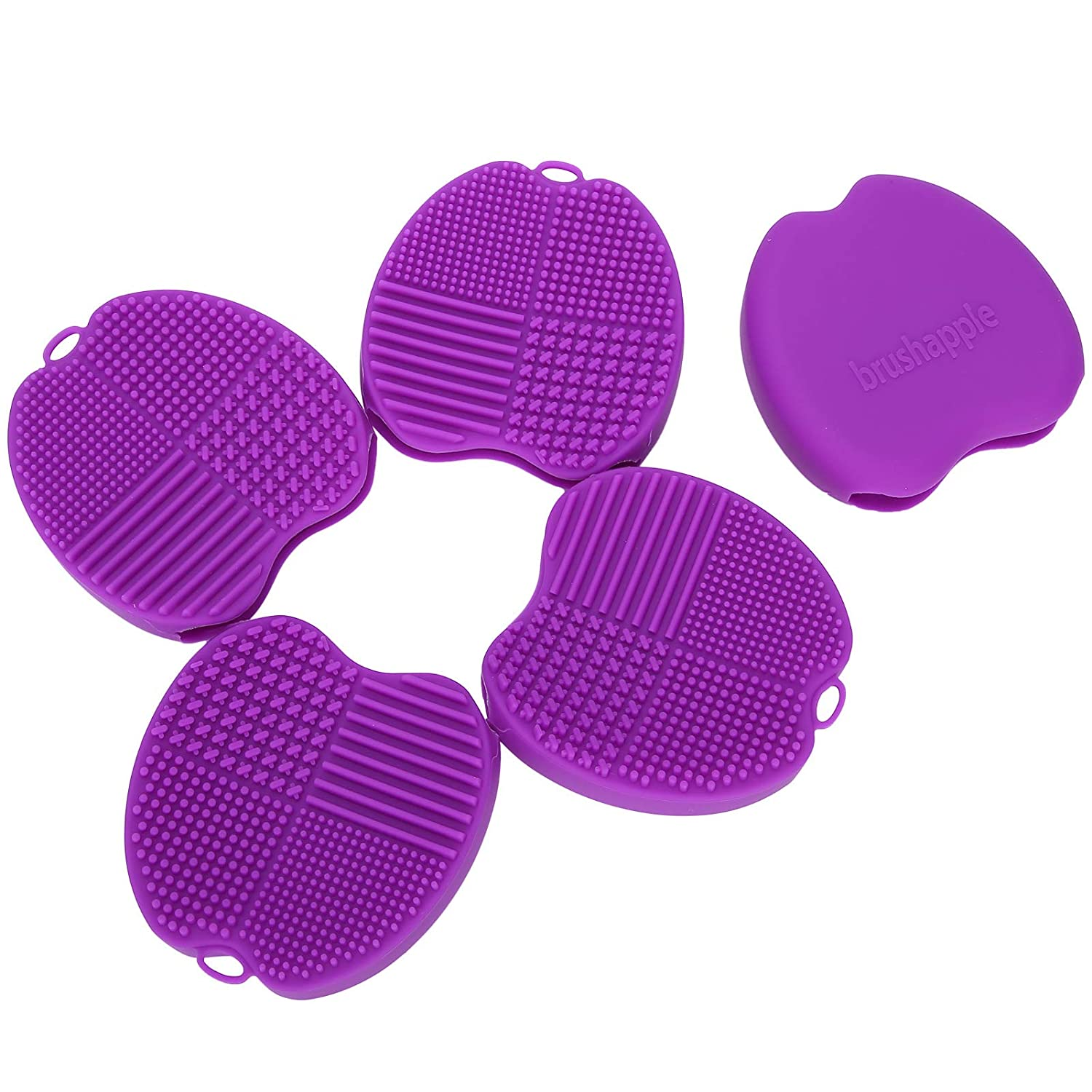 5pcs Brush Cleaning Excellence Scruber Mat Limited price Makeup for Pad Bea Cleaner