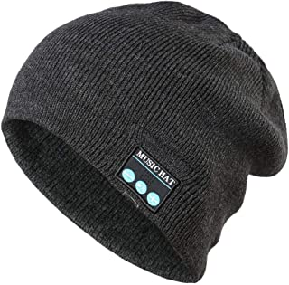 42ad0ffcba1 Yezijin Bluetooth Wireless Warm Beanie Hat Handsfree Music Cap Headphone  Headset Xmas
