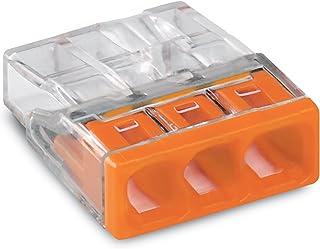 25 connecteurs Wago 2273-203 miniatures à emboîter.