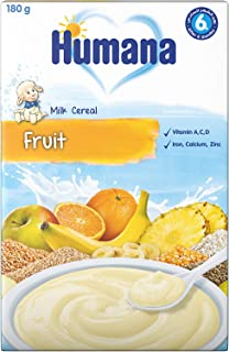 Humana Fruits Milk Infant Cereal, 180g