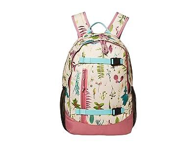Burton Kids Day Hiker 20L Backpack (Little Kids/Big Kids) (Creme Brulee Oakledge Floral) Backpack Bags