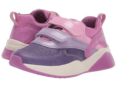 Geox Kids Jr Sinead 1 (Little Kid) (Fuchsia/Violet) Girls Shoes