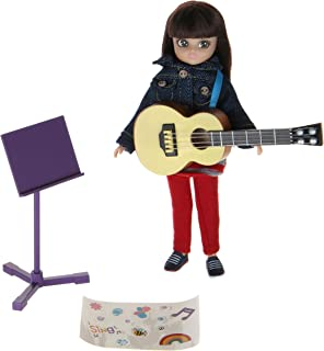 Music Class Lottie Doll | Music Doll with Doll Guitar | Fab Doll Music Set | Musician Doll Playset | Doll Music Activity P...