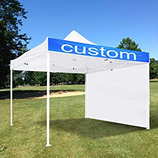 Yescom 10x10 Ft Pop Up Canopy Tent with Sidewall Outdoor Party Instant Shelter Portable Folding Canopy Carry Bag