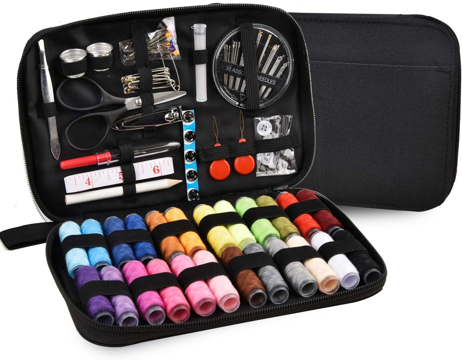 outlet Sewing Kit AUERVO Supplies Thread Accessories 24Pcs Spool Finally resale start