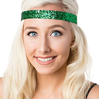 Hipsy Irish Green Hairbands St Patricks Day Accessories Clover Headband Gift Packs