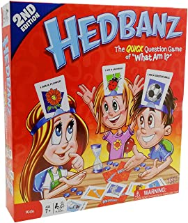 2nd Edition-Guess What am I/Card Game Family Guessing Game Kids Party Board Tabletop Hedbanz Toy