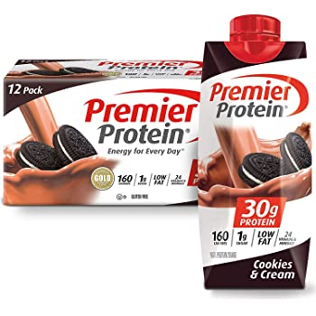 Premier Protein High-Protein Shake, Cookies & Cream, 132 Fl. Oz., 132 Oz