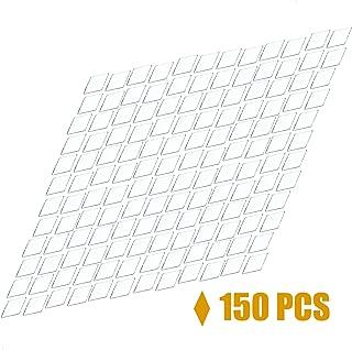 Timoo 150 pcs Diamond Shape Mirror,1