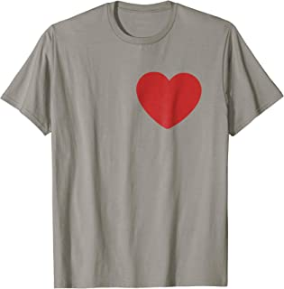Tin Man Heart T-Shirt Halloween Costume Tee