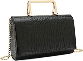 Small Crocodile Print Clutch Bag PU Alligator Handbag Women's Clutch Purse