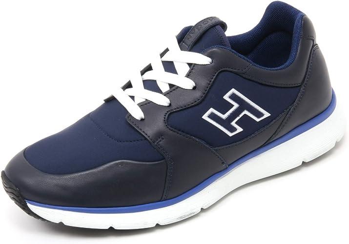 Hogan B7132 Sneaker Uomo Traditional 20.15 Scarpa H Flock Blu Shoe ...