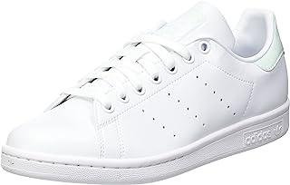 adidas Stan Smith W, Scarpe da Ginnastica Donna, Ftwr White/Dash Green/Core Black, 40 2/3 EU