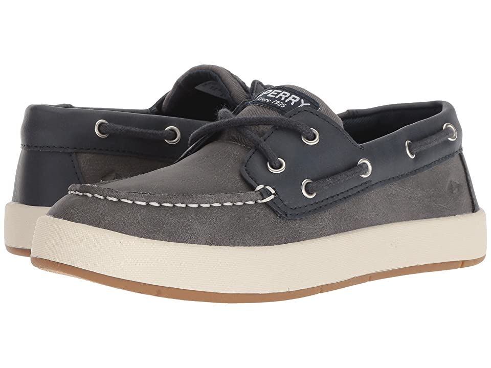 Sperry Kids Cruise Boat (Little Kid/Big Kid) (Navy/Grey) Boy