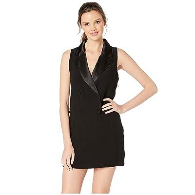 BB Dakota She Means Business Tuxedo Dress (Black) Women