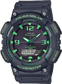 Mens Analogue-Digital Quartz Watch with Resin Strap AQ-S810W-8A3VEF