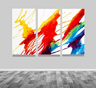 72x48 Large Modern Original Abstract Epoxy Resin Fine Art Painting by Tara Baden. Signed. Ready to hang.