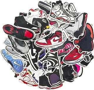 AJ Jordan Sneakers Stickers Pack 100pcs Cool Laptop Phone Cases Luggage Car Skateboard Waterproof Vinyl Decals