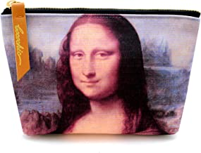 Leonardo da Vinci Carry all Pouch Coin Pouches Canvas Mona Lisa