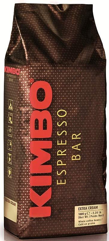 Kimbo Extra Cream Espresso Whole Beans 2 2lb 1000g
