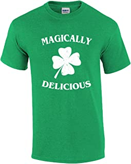 Funny St Patricks Day Magically Delicious Graphic Holiday T-Shirt
