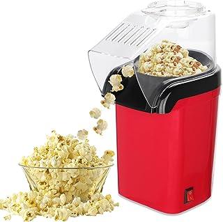 FOGARI Machine à Pop Corn, Machine à Pop-corn pour la Maison, Sans Gras Huile, Facile á L'utilisation, avec Coupe à Mesure...