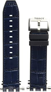 Black/Blue Rubber Strap