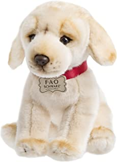 "FAO Schwarz 1005982 Golden LABRADOR Puppy Dog Toy Plush, Ultra Soft & Snuggly Doll For Creative & Imagination Play, 10"", B..."
