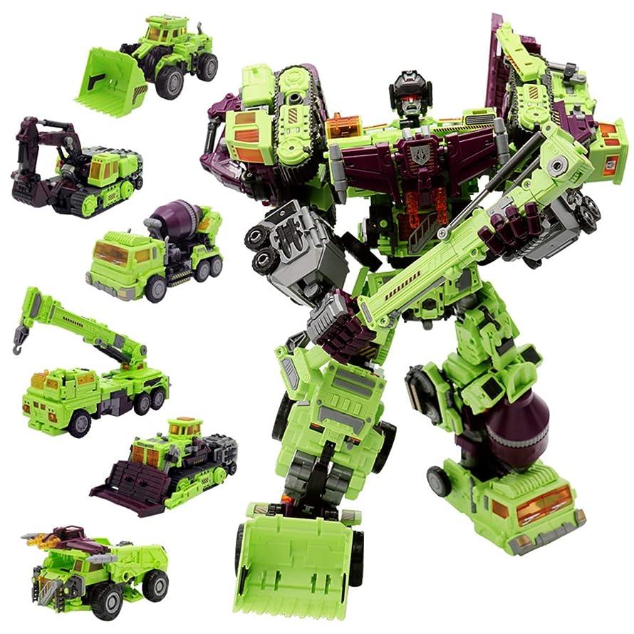 NBK Transformer Oversize Toys Robot Devastator TF Engineering Combiner 6 in 1 Action Figure Car Truck Model Gift for Kids Boys dufgziy6349673