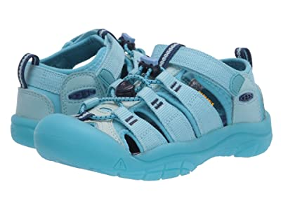 Keen Kids Newport H2 (Little Kid/Big Kid) (Petit Four/Blue Mist) Girls Shoes