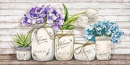 Hydrangeas in Mason Jars by Thomlinson Jenny 8