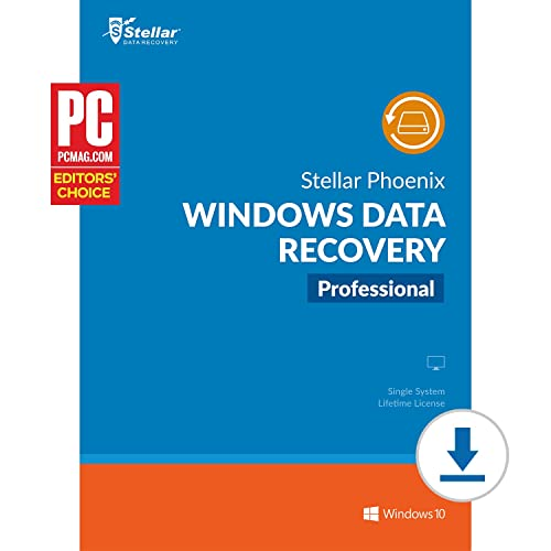 Stellar Phoenix Windows Data Recovery Professional [Download]