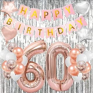 60th birthday decorations uk