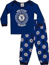 Chelsea FC - Jungen Schlafanzug - Offizielles Merchandise - Geschenk für Fußballfans