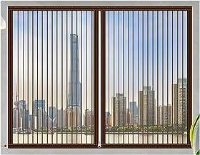 Klamboe voor Windows Window Screen Mesh Magnetische Fly Screen Window Mesh Fly Gordijn met Tape en Sluiting Magneten Eenvo...