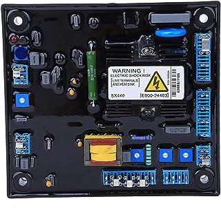 Regulador de voltaje AVR, regulador de voltaje automático del generador sin escobillas SX440 AVR, convertidor, módulo de potencia del regulador de voltaje, repuestos del generador sin escobillas