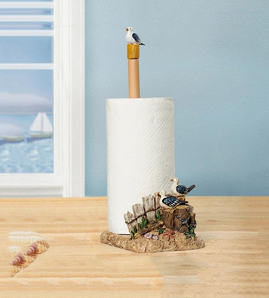幾分不均一銃紙タオルラック装飾樹脂海鳥装飾紙タオルトイレトイレットペーパー面
