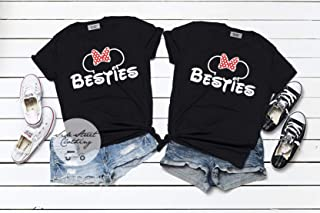 Minnie or Mickey Bestie T shirt- ONE SHIRT - baby, toddler, youth, women, Men, Disneyland, mommy and me