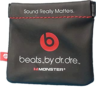 Monster Beats in-Ear Earphone Pocket Pouch for POWERBEATS(1, 2, 3) BeatsX, iBeats, Tour, UrBeats and All Beats Earphone Mo...