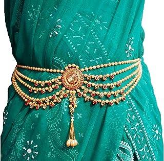 Valusha FashionKamarpatta with Pearls