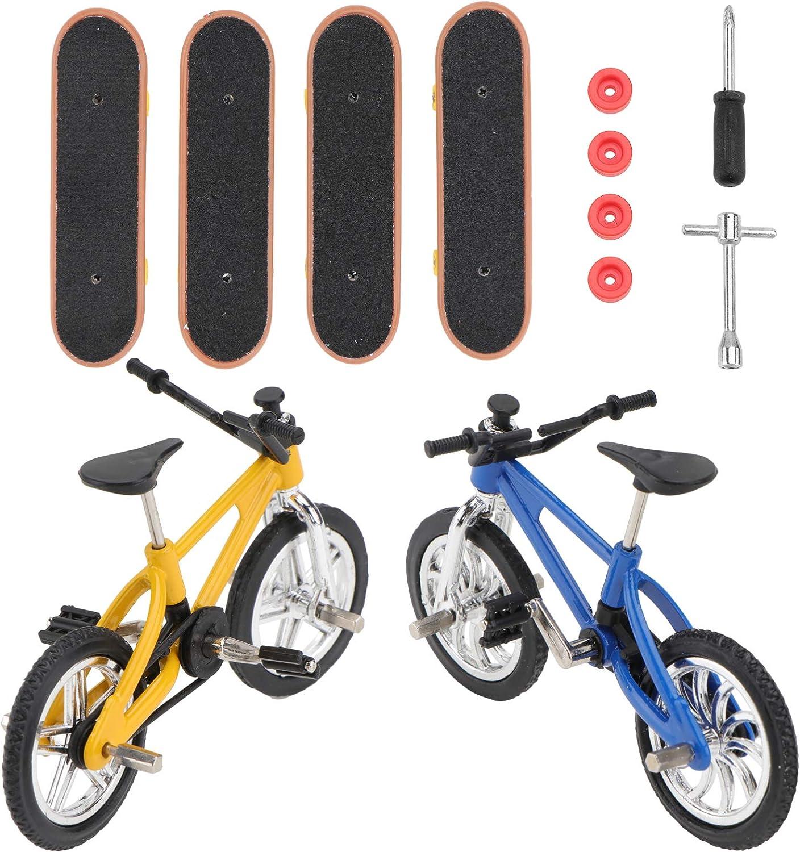 TOYANDONA Finger Skateboards Toys Challenge the lowest price of Japan ☆ Set Mini Dealing full price reduction Fingerti Bikes