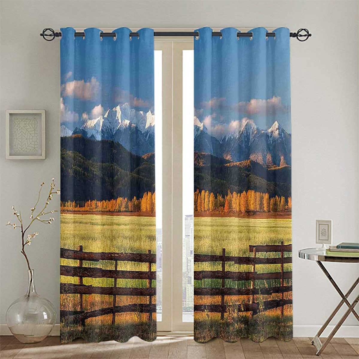excellence Grommet Top Darkening Curtains for Room For San Diego Mall Living Nature Valley