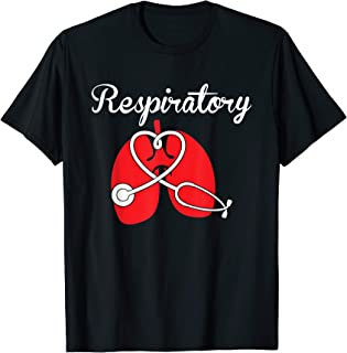 Respiratory Therapist Stethoscope Lung LRT & T Shirt Design