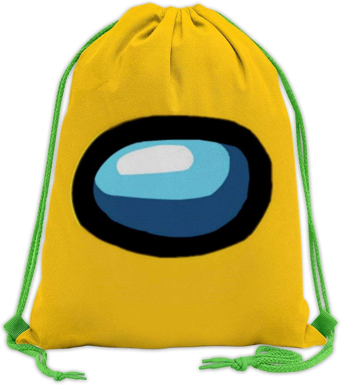 gimnasio mochila con boca y hombro viajes Mochila con cord/ón 3D para deporte 208 New Game Among Us