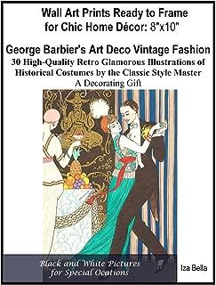 GEORGE BARBIER Vintage Art Nouveau Poster 1912 Sur le Cantique des cantiques