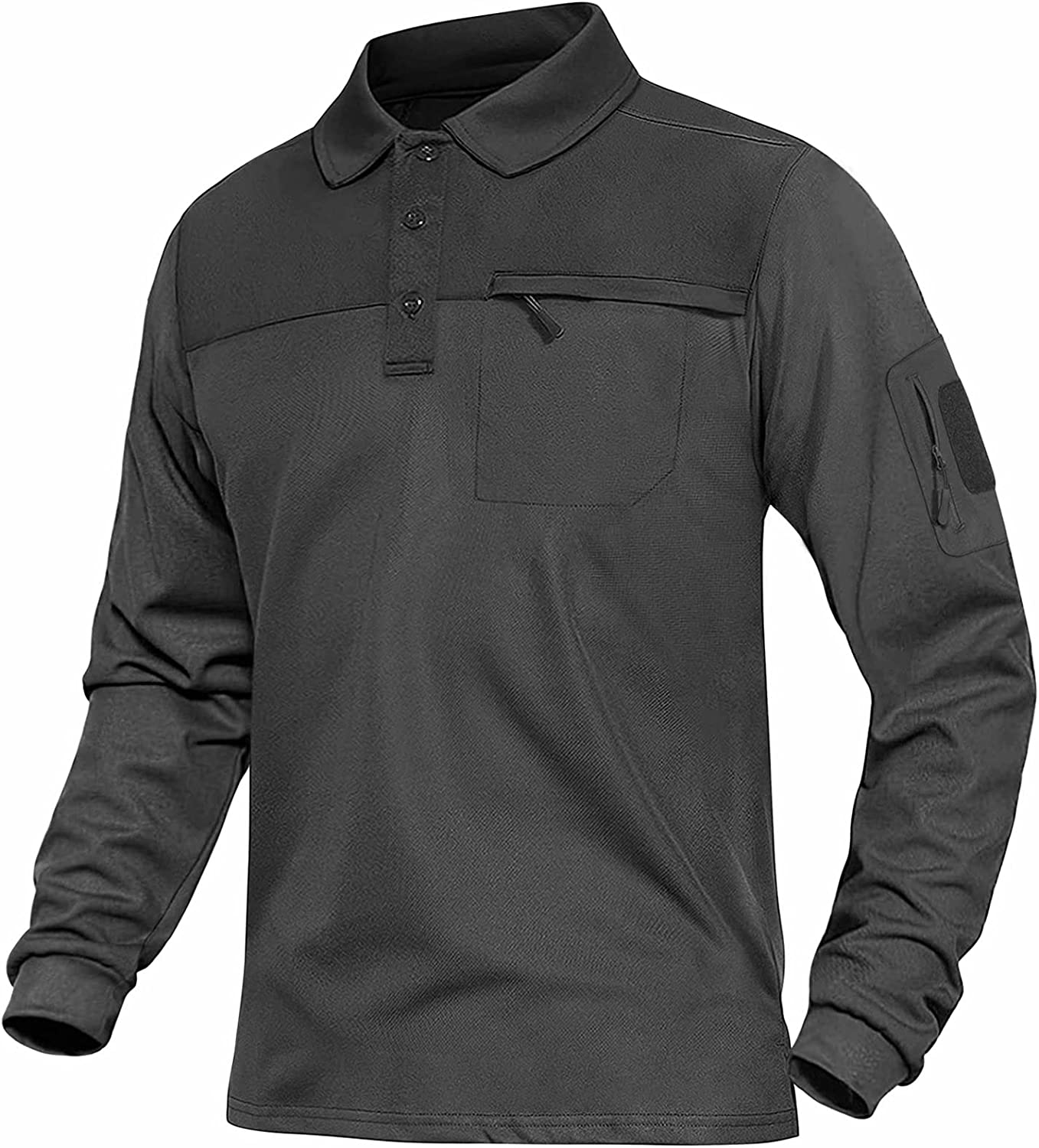 Regular discount MAGNIVIT Men's Tactical Polo Special price for a limited time Shirt Pullover Long Sleeve Military