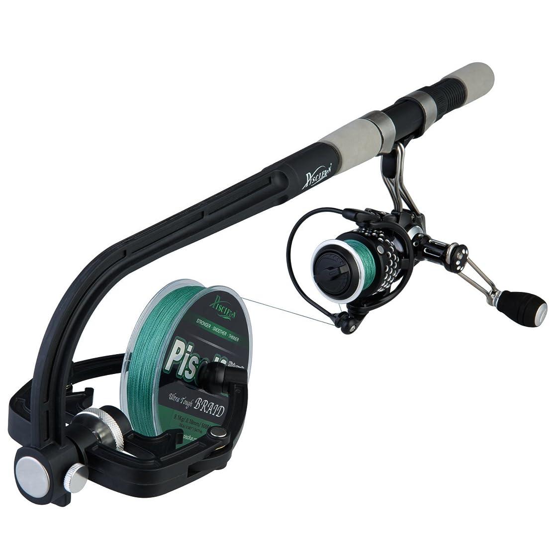 器官健康ブレーキPiscifun Fishing Line Spooler Reel Spool Spooling Station System Baitcasting Reel Line Winder [並行輸入品]