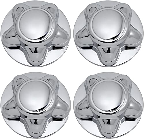 lowest OxGord Center Caps popular Best for 97-04 Ford online sale F-150, Expedition & 98-03 Navigator - Snaps Over Factory Aluminum & Steel Wheel with 12/14mm 5-Lug Bolts - OEM Replacement YL34-1A096-DA (Pack of 4) - Chrome online